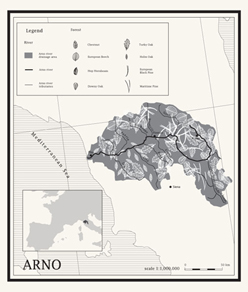 arno leaf map